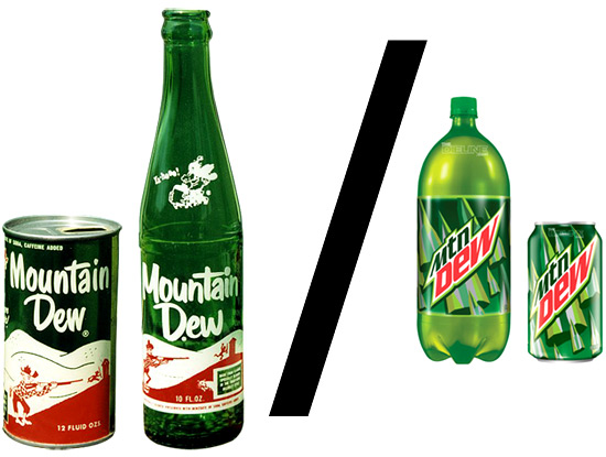 Spencers Page of Mtn Dew - www.MegaGoofyProductions.com